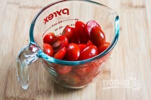 Салат с болгарским перцем и сыром - фото шаг 2