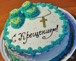Торт на крестины - фото шаг 8