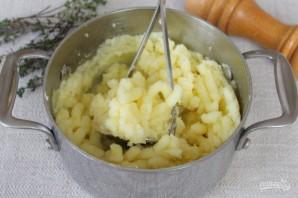 Картофельный пирог с капустой - фото шаг 3