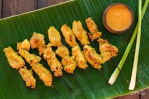 Куриный шашлык в пряном маринаде - фото шаг 8