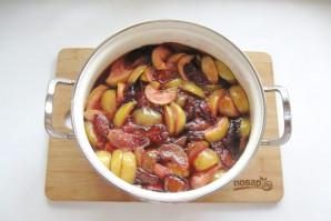 Варенье из яблок и слив - фото шаг 12