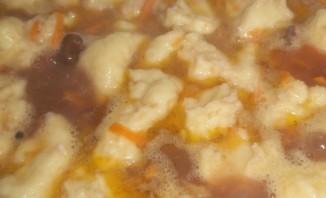 Суп фасолевый с клецками - фото шаг 4