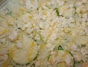 Запеканка из цветной капусты и кабачков - фото шаг 2