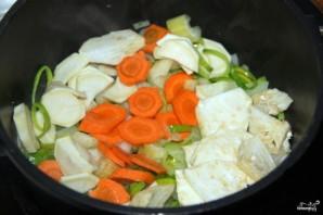 Суп картофельный с овощами - фото шаг 1