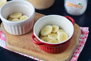 Банановый пудинг без выпечки