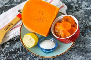 Тыква с абрикосами - фото шаг 1