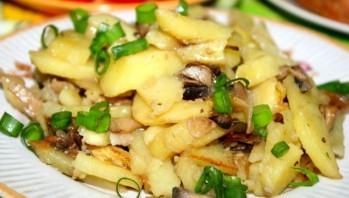 Сморчки, жареные с картошкой - фото шаг 4