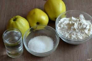 Постные яблочные оладьи - фото шаг 1