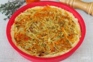 Картофельный пирог с капустой - фото шаг 11