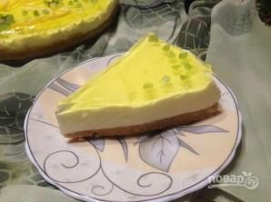 Быстрый лимонный чизкейк - фото шаг 10