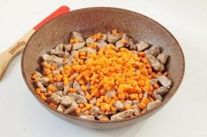 Индюшатина с овощами в томатном соусе - фото шаг 4