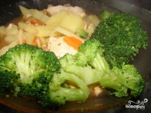 Рис с брокколи - фото шаг 6