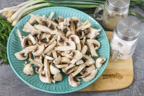 ПП гречка с грибами - фото шаг 5