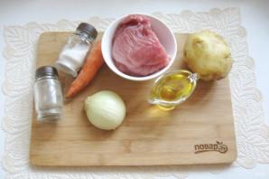 Гуляш с картофельным пюре - фото шаг 1