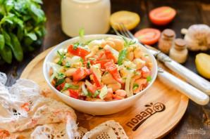 """Турецкий салат """"Пияз"""" - фото шаг 8"""