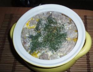 Жаркое с мясом и грибами - фото шаг 5