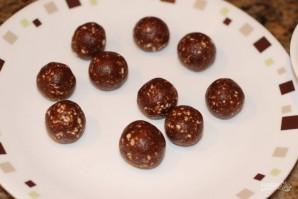Шоколадные трюфели с миндалем - фото шаг 3