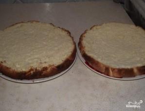 Бисквитный торт на скорую руку - фото шаг 7