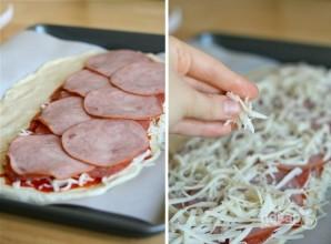 """Закрытая пицца """"Стромболи"""" - фото шаг 4"""