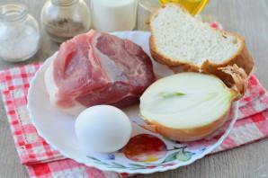 Котлеты из свинины с хлебом - фото шаг 1