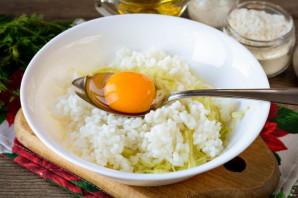Котлеты из кабачков с рисом - фото шаг 6