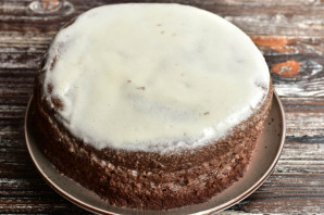 """Торт """"Шоколад на кипятке"""" в мультиварке - фото шаг 11"""