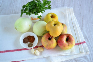 Яблочный соус к мясу - фото шаг 1
