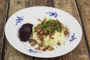 Картофельное пюре с беконом - фото шаг 6