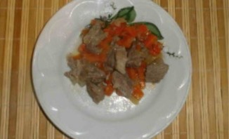 Тушеное мясо в утятнице - фото шаг 8