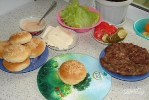 """Гамбургер """"Макдональдс"""" - фото шаг 2"""