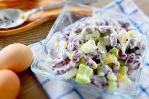 Салат с фасолью и сельдереем - фото шаг 4