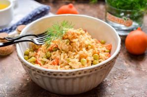 Жареный рис по-китайски - фото шаг 8