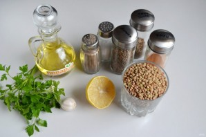 Хумус из чечевицы - фото шаг 1