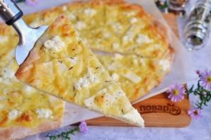 """Итальянская пицца """"Четыре сыра"""" - фото шаг 9"""