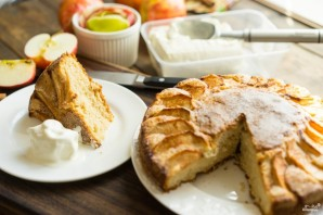 Открытый яблочный пирог - фото шаг 13