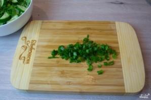 Диетический салат с пекинской капустой - фото шаг 4