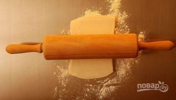 Слойки с сыром и маком - фото шаг 1