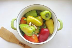Квашеный болгарский перец на зиму целиком - фото шаг 5