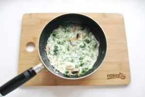Паста со шпинатом в сливочном соусе - фото шаг 5