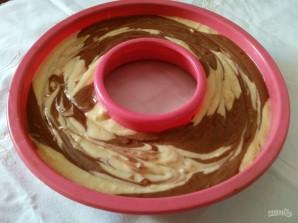 Винный кекс из двух видов шоколада - фото шаг 12