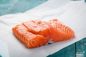 Засолка лосося - фото шаг 1