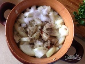 Мясо в горшочках - фото шаг 8