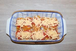 Горбуша с помидорами и сыром в духовке - фото шаг 10