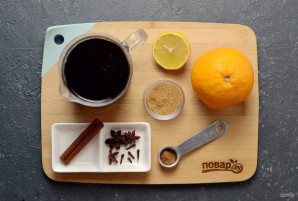 Глинтвейн на вишневом соке - фото шаг 1