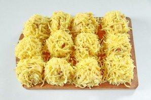 Колобки из спагетти - фото шаг 11