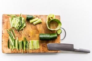 Салат легкий без майонеза - фото шаг 3