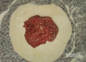 Хычины с мясом - фото шаг 2