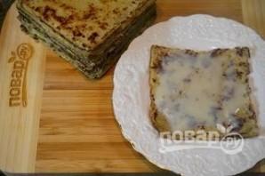 Курский блинный торт - фото шаг 4