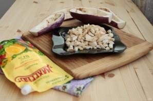 Лучший рецепт фаршированных баклажанов с грибами и майонезом - фото шаг 2