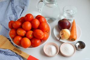 Консервированные помидоры со свеклой - фото шаг 1
